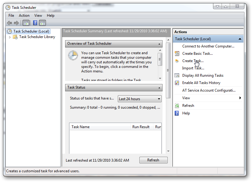 run a program without AUC in Windows 7 -2