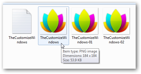 How to embed or hide text in normal picture files in Windows 7-4