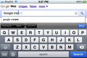 Improve your website's rank on Google Instant search result