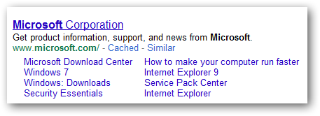 How to foster the emergence of SiteLinks in SERPS?