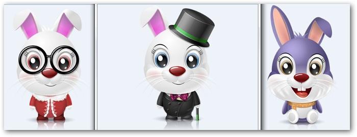 bunny icons