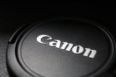 Canon Lens Cap Close Up Shot Wallpaper