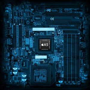 Intel Chip Set Wallpaper for iPad