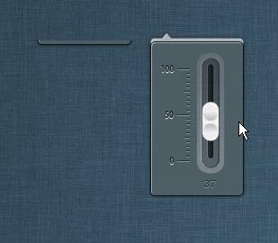 Button Volume Slider