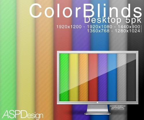 Color Blinds Wallpaper