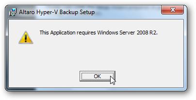 Free Hyper-V Backup Tool From Altaro