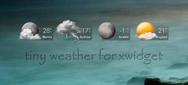 Tiny Weather Widget