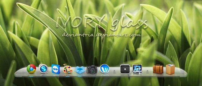 Ivory Glass Dock