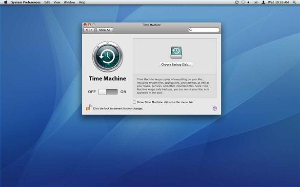 Mac OS X Time Machine