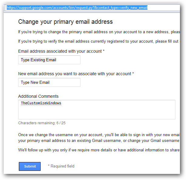 How to Change the Primary email Associated with Google Plus Account