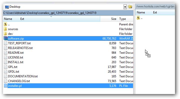 Installing CorneliOS Web OS on Rackspace