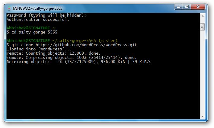 Installing WordPress on Heroku with Rackspace Cloud Database