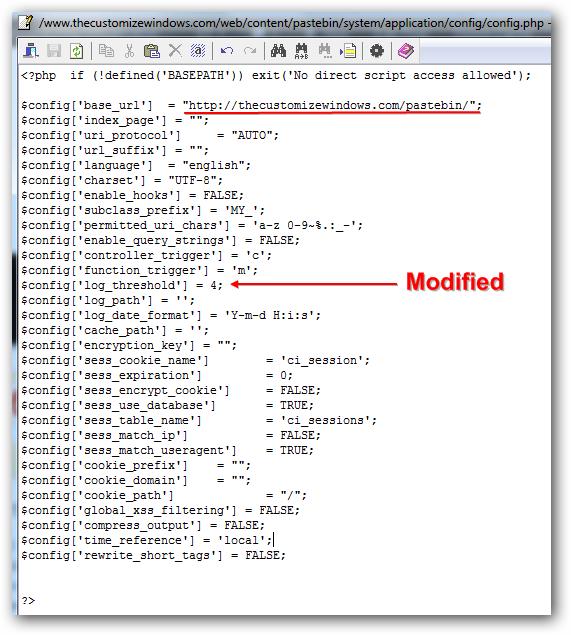 Installing an Advanced Pastebin on Rackspace Cloud Sites