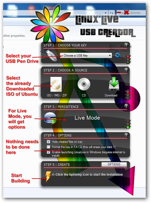 Run Ubuntu as Live USB or Virtualization from Pen Drive