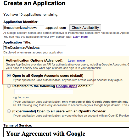 Get Google Apps and Custom Domain Email