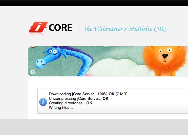 Installing JCore on Rackspace Cloud