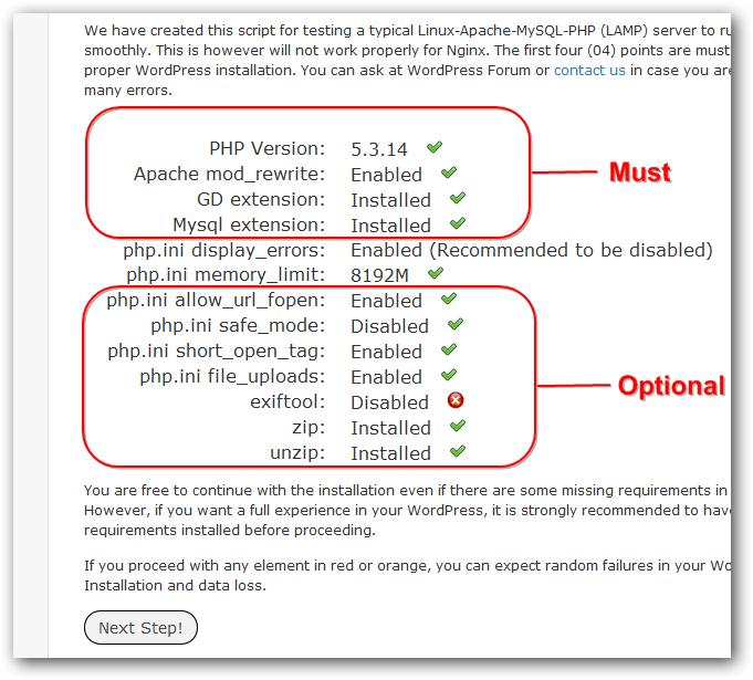 WordPress-Compatibility-Checking-Script