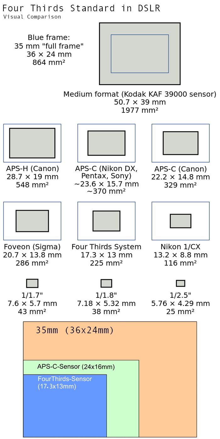 Four Thirds Standard in DSLR