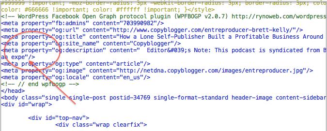 Showing Open Graph Protocol og image, og description Properly