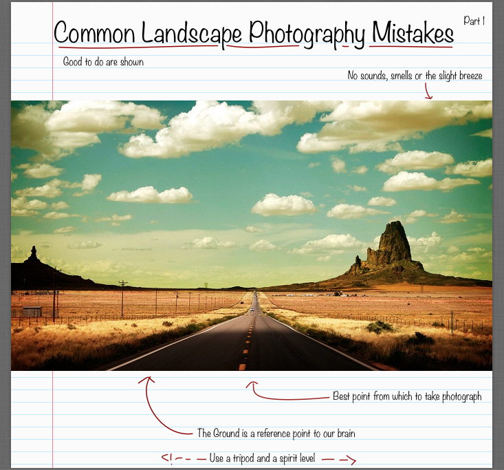 Common Landscape Photography Mistakes