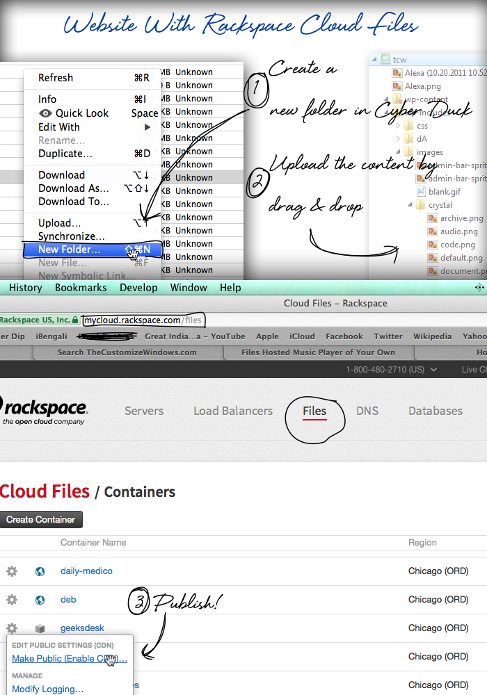 Website-With-Rackspace-Cloud-Files