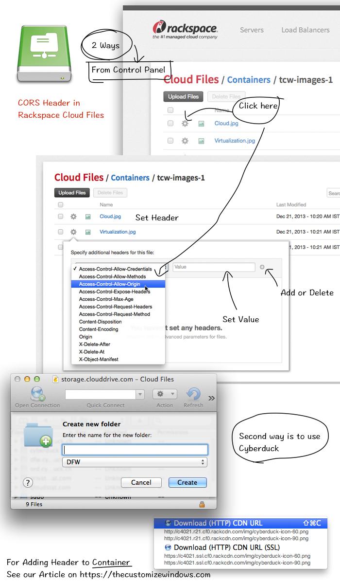 CORS-Header-in-Rackspace-Cloud-Files