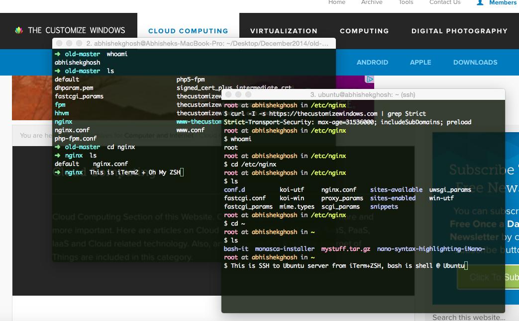 Colorful Bash on SSH with Syntax Highlighting Ubuntu