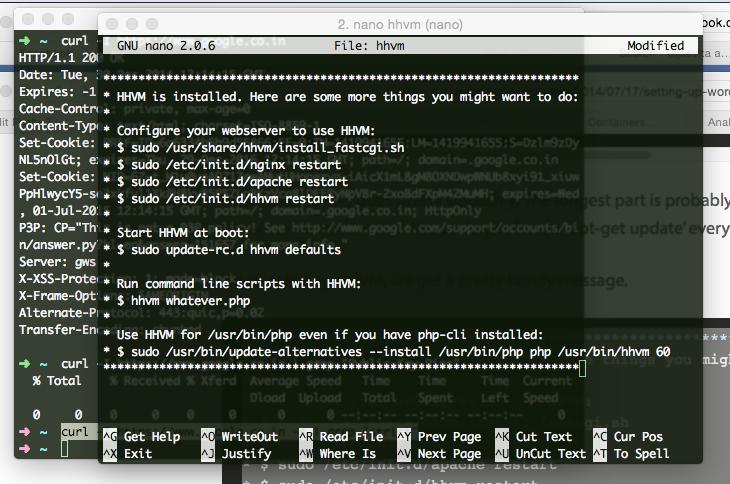 Install WordPress on Nginx With HHVM on Ubuntu Cloud Server
