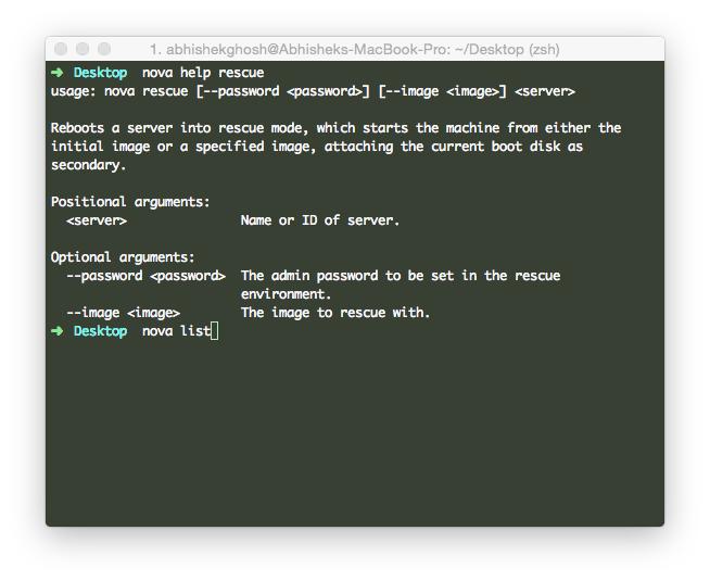 Steps For OpenStack Nova Instance RESCUE (HP Cloud)