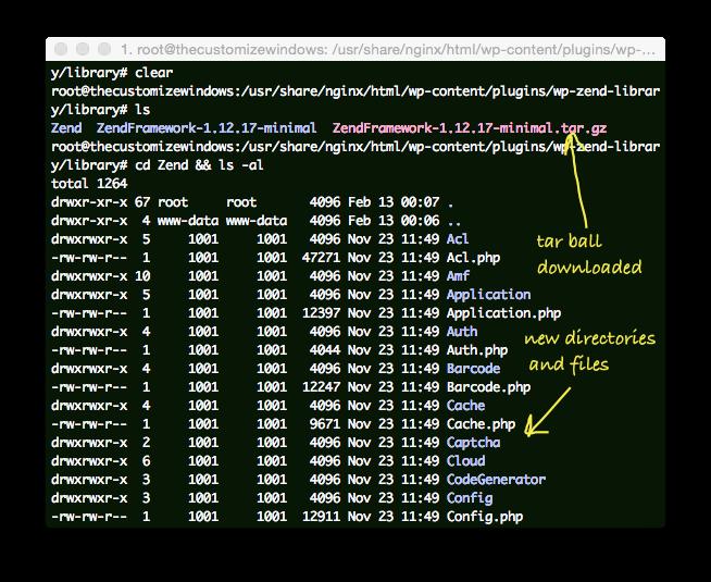 Zend Framework Lib on Existing Nginx PHP5-FPM WordPress