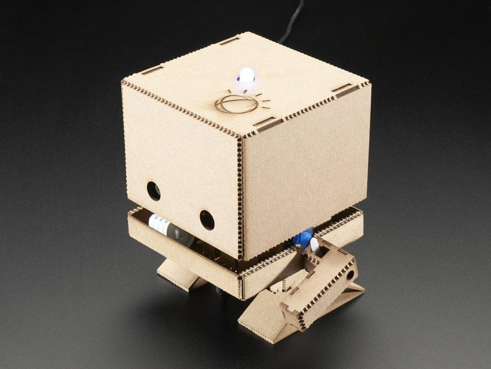 Raspberry Pi Cardboard Robot TJBot With IBM Watson API